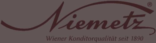 Niemetz Logo - Wiener Konditorqualität seit 1890