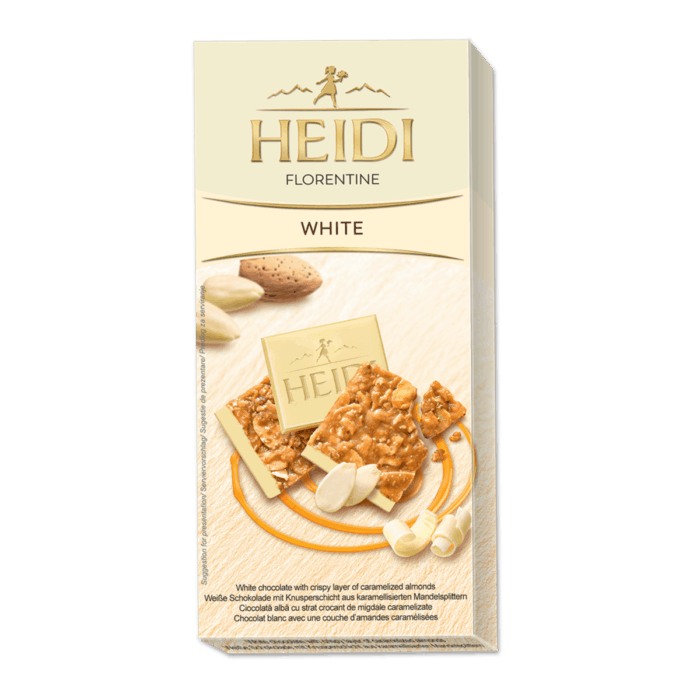 HEIDI Florentine weiße Schokolade