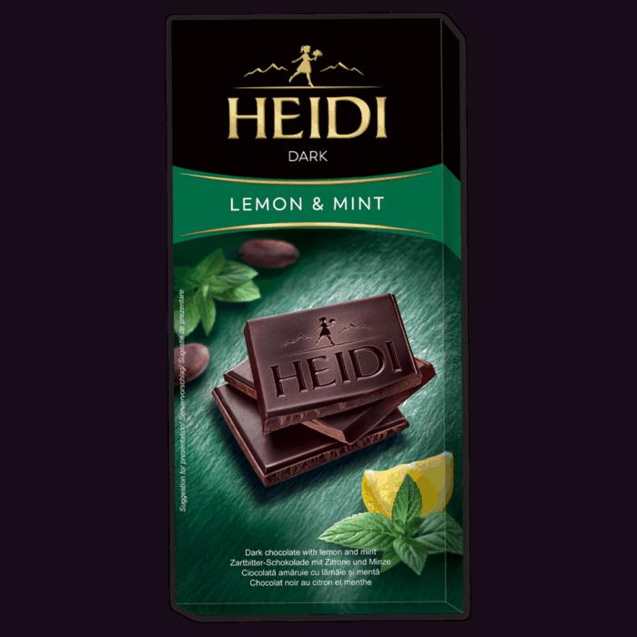 HEIDI Dark Minze & Zitrone