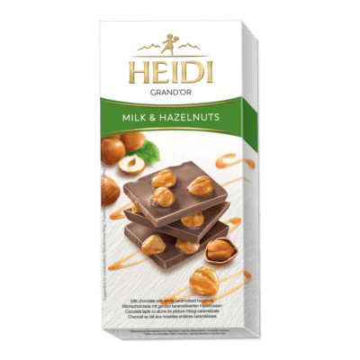 HEIDI Grand'Or Milch & Haselnuss