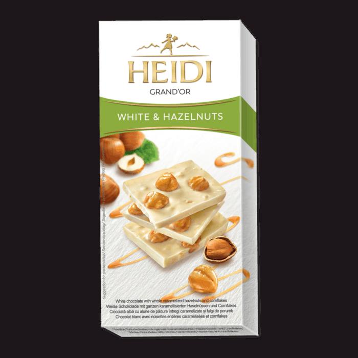 HEIDI Grand'Or weiße Schokolade & Haselnuss
