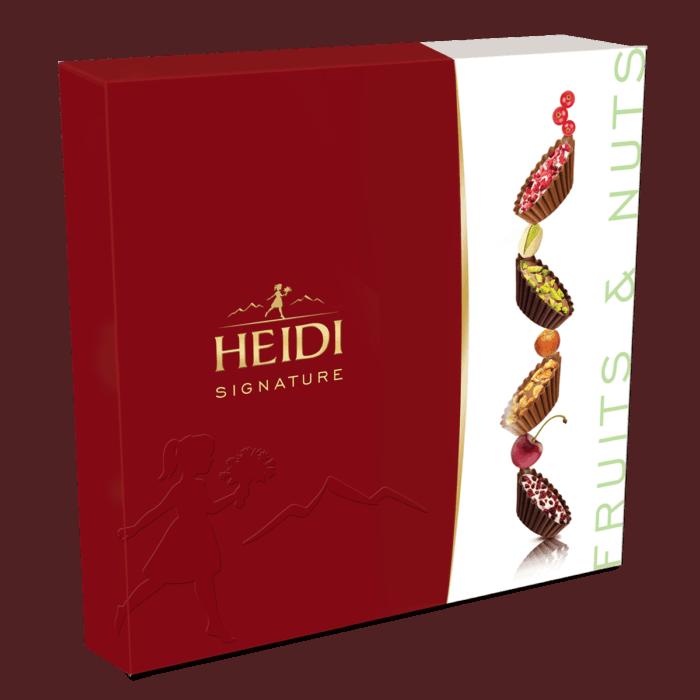 HEIDI Signature Cups Früchte & Nuss Pralinen