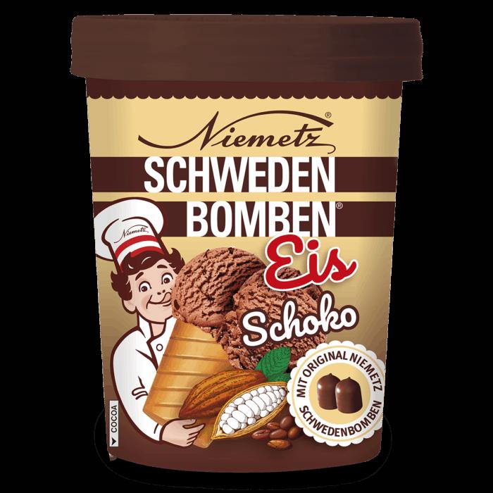 Schwedenbomben Eis Schoko
