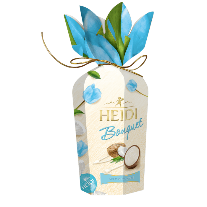 HEIDI Bouquet Milch-Schokolade & Kokosnuss
