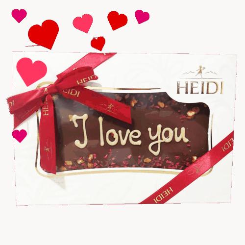 HEIDI Tafel aus Milchschokolade