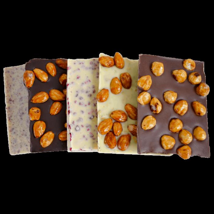 HEIDI Frischschokolade-Mix offen