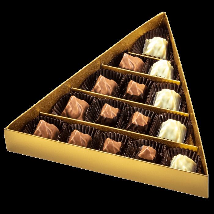 HEIDI Pralinenmischung Nougat – 15 Stück offen