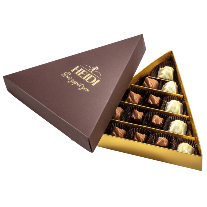 HEIDI Pralinenmischung Nougat – 15 Stück