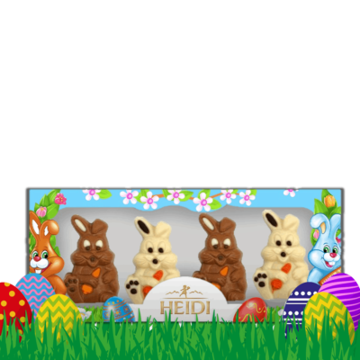 Produktabbildung_HEIDI Mini Osterhasen 4x