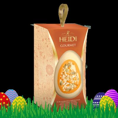 Produktabbildung_HEIDI Gourmet Ei Orange & Kürbiskerne
