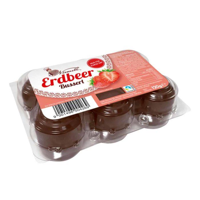 Niemetz Erdbeer-Busserl 6er