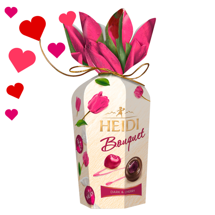 HEIDI Bouquet dunkle Schokolade & Kirsche