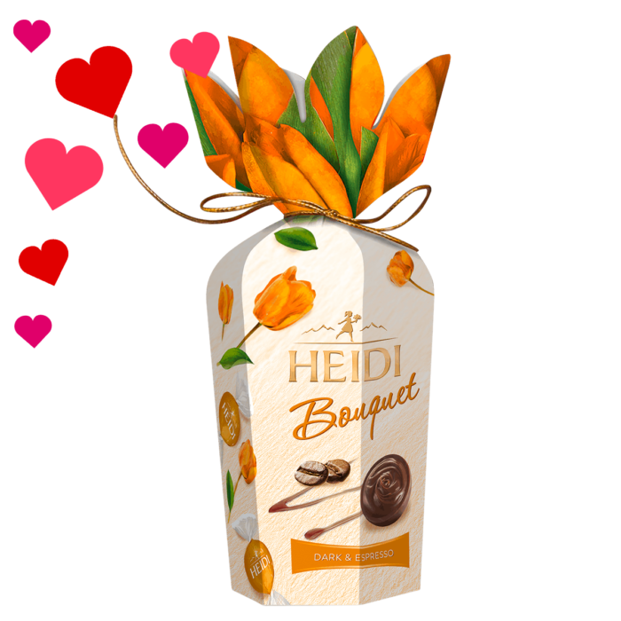 HEIDI Bouquet dunkle Schokolade & Espresso